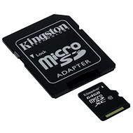 Kingston Micro SDHC 64 GB Class 10 UHS-I + SD Adapter - Memory Card