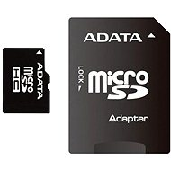 ADATA Micro SDHC 16GB Class 4 + SD Adapter - Memory Card