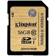 Kingston SDHC 16 GB UHS-I Class 10 Ultimate - Memory Card