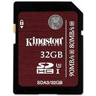Kingston SDHC 32GB Class 3 UHS-I U3 - Memory Card