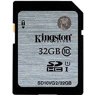Kingston SDHC 32GB Class 10 UHS-I - Memory Card