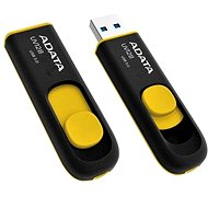 ADATA UV128 32GB black/yellow - USB Flash Drive