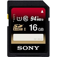 SONY SDHC 16GB Class 10 UHS-I - Memory Card