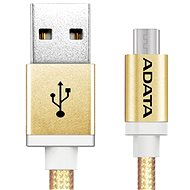 ADATA microUSB 1m gold - Data cable