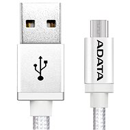 ADATA microUSB 1m silver - Data cable