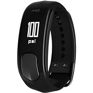 MIO SLICE Black - Short Strap - Fitness Bracelet