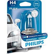 PHILIPS H4 WhiteVision 60 / 55W, socket P43t-38 - Car Bulb
