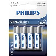 Philips LR6E4B 4pcs in a package - Battery