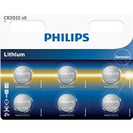Philips CR2032P6 6 pieces in package - Battery