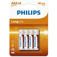 Philips R03L4B 4 pcs per pack - Battery