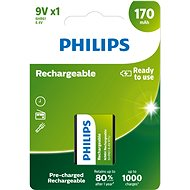 Philips 9VB1A17 1 unit per package - Batteries