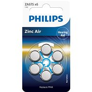 Philips ZA675B6A 6pcs in pack - Battery