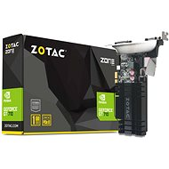 ZOTAC GeForce GT 710 PCIe x1 ZONE Edition Low Profile 1GB DDR3 - Graphics Card