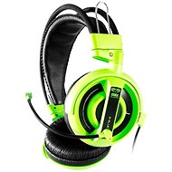 E-Blue Cobra HS Green - Headphones with Mic