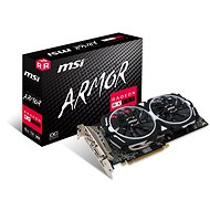 MSI Radeon RX 580 ARMOR 8G OC - Graphics Card