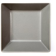 ELITE Square deep plate 17,5x17,5cm grey, set 6 pcs - Plate