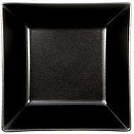 ELITE Square deep plate 17,5x17,5cm black, set 6 pcs - Plate
