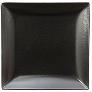 ELITE Square dessert plate 18x18cm black, set 6 pcs - Plate
