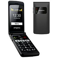 Emporia FLIP basic black - Mobile Phone