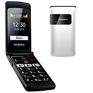 Emporia FLIP basic White - Mobile Phone