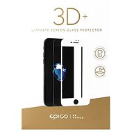 Epico Glass 3D + for iPhone 6 and iPhone 6S White - Tempered Glass