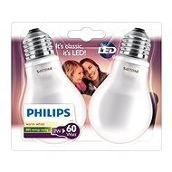 Philips LED Classic 7-60W, E27, 2700K, Milky White, 2pcs - LED Bulb