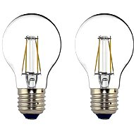 Philips LEDClassic Filament Retro 4-40W, E27, 2700K, clear, set of 2 - LED bulb