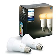 Philips Hue White Ambiance 9.5W A60 set 2ks - LED bulb