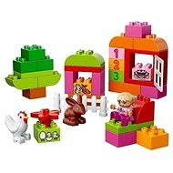 LEGO DUPLO 10571 LEGO DUPLO All-in-One-Pink-Box-of-Fun - Building Kit