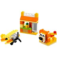 LEGO Classic 10709 Orange Creativity Box - Building Kit