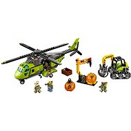 LEGO City 60123 Volcano Supply Helicopter - Building Kit