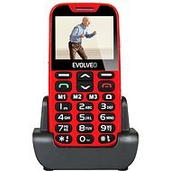 EVOLVEO EasyPhone XD red/silver - Mobile Phone
