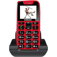EVOLVEO EasyPhone red - Mobile Phone