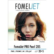 FOMEI Jet PRO Pearl 205 A4 - pack of 20pcs + 5pcs free - Photo Paper