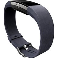 Fitbit Charge 2 Band Leather Indigo Large - Strap