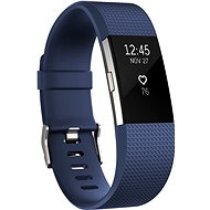 Fitbit Charge 2 Small Blue Silver - Fitness Tracker