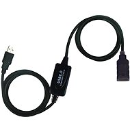 PremiumCord USB 2.0 repeater 10m extension - Data Cable