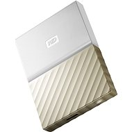 "WD 2.5 ""My Passport Ultra Metal 3TB white / gold - External Disk"