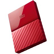 "WD 2.5"" My Passport 1TB Red - External Disk"