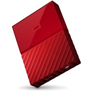 "WD 2.5"" My Passport 4TB red - External Disk"