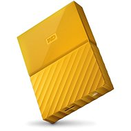 "WD 2.5"" My Passport 4TB Yellow - External Disk"