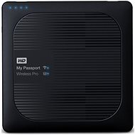 "WD My Passport Wireless Pro 4TB 2.5"" (black) - Data Storage Device"