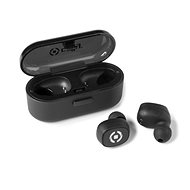 CELLY TWINS Black - Bluetooth Headphones