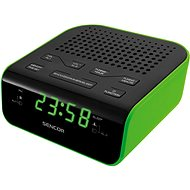 Sencor SRC 136 GN black-green - Radio Alarm Clock