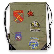 Call of Duty WWII - Division Patches Drawstring Bag - Backpack