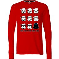 Star Wars Merry X-Mas Long Sleeve - Tričko