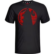 Star Wars Vader Red Puff T-Shirt - Tričko