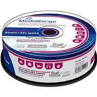 MediaRange CD-R Waterguard 25pcs cakebox - Media