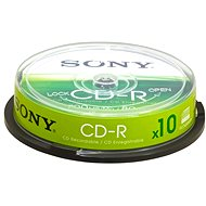Sony CD-R 10pcs cakebox - Media