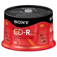 Sony CD-R 50pcs cakebox - Media
